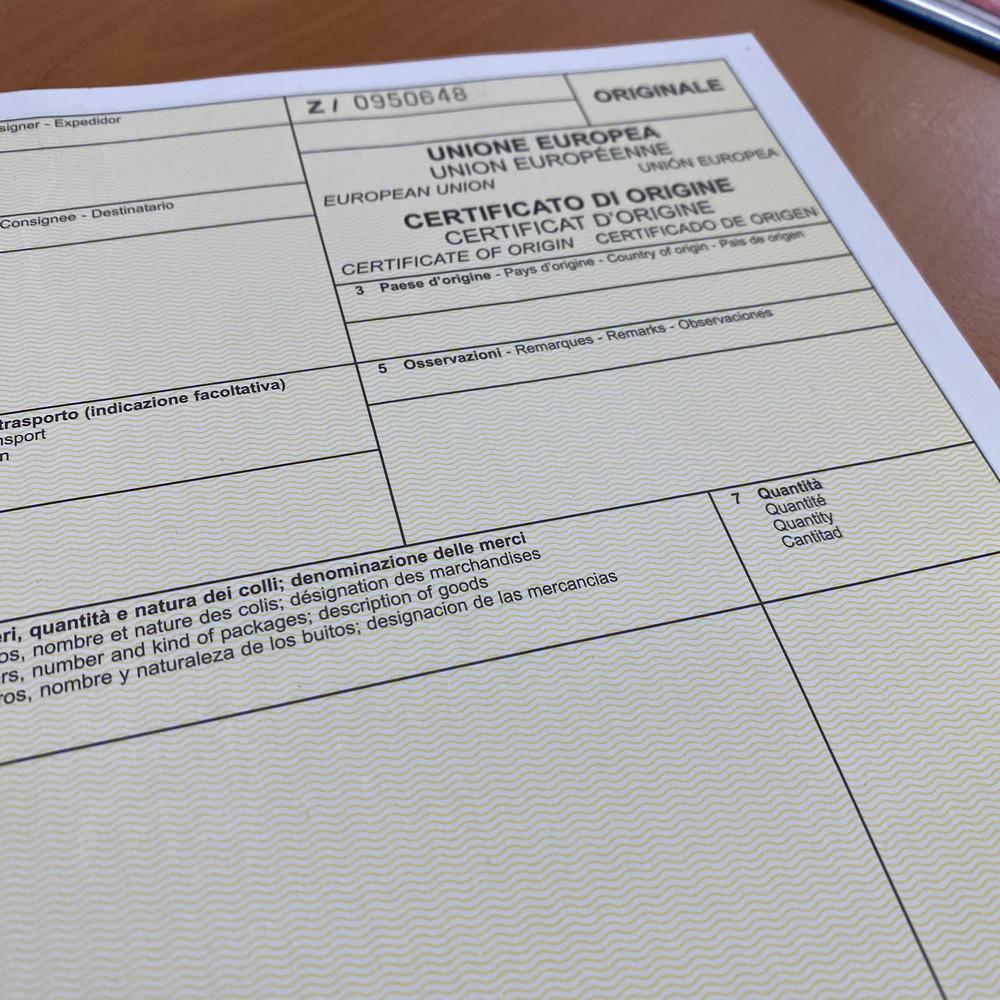 certificato di origine napoli -camera di commercio di napoli gitsped - commercio estero, come fare un certificato di origine